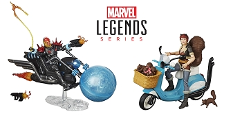 Marvel Legends RIDERS WAVE 1 Set of 2